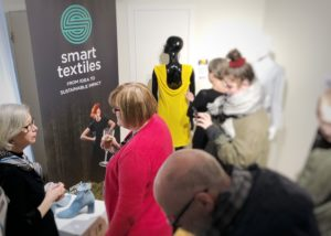 Vernissage på Design March i Reykjavik i mars 2019 med Smart Textiles