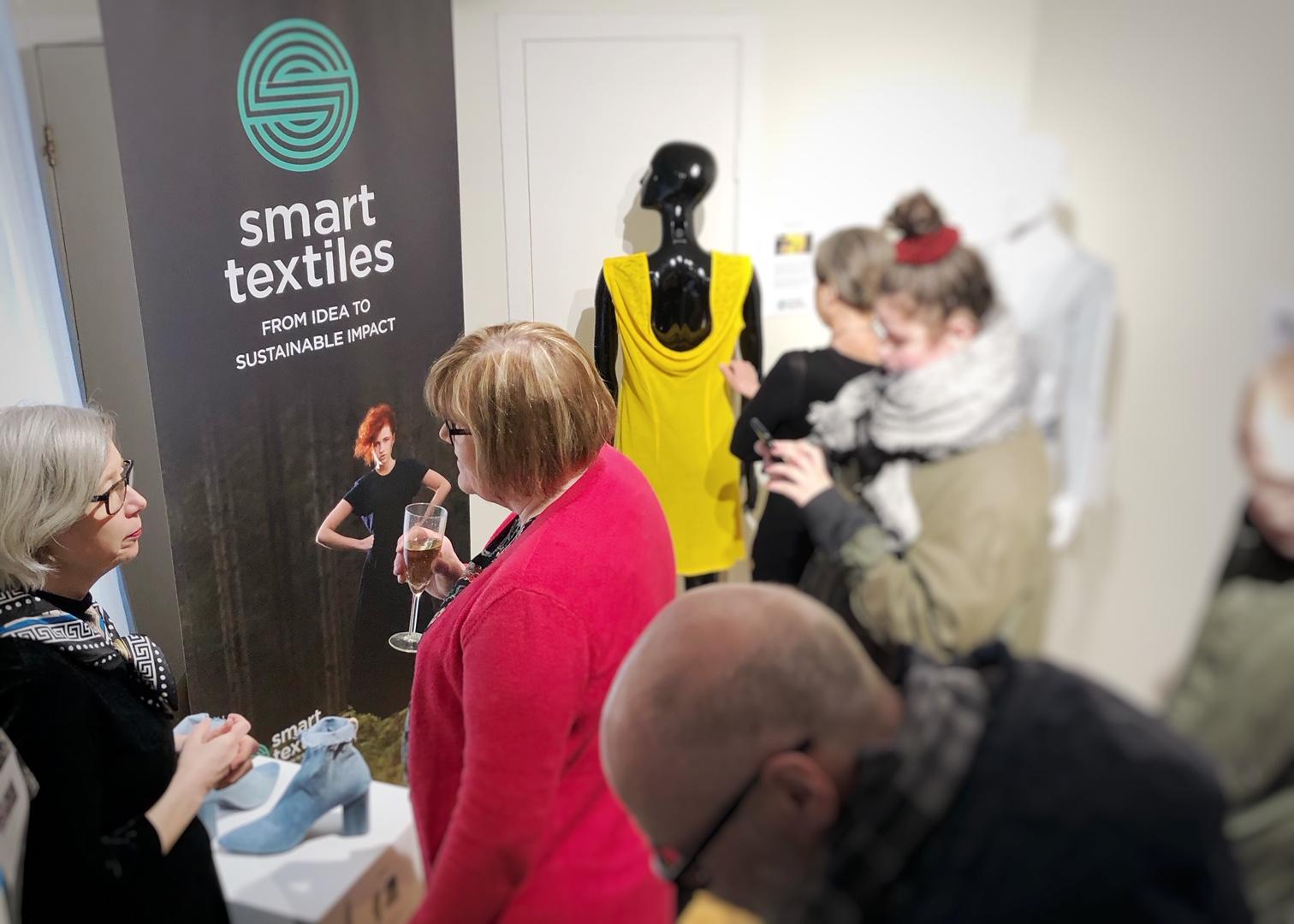 Lyckad utställning för Smart Textiles i Reykjavik