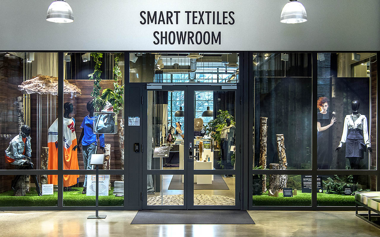 Smart Textiles Showroom till Techtextil