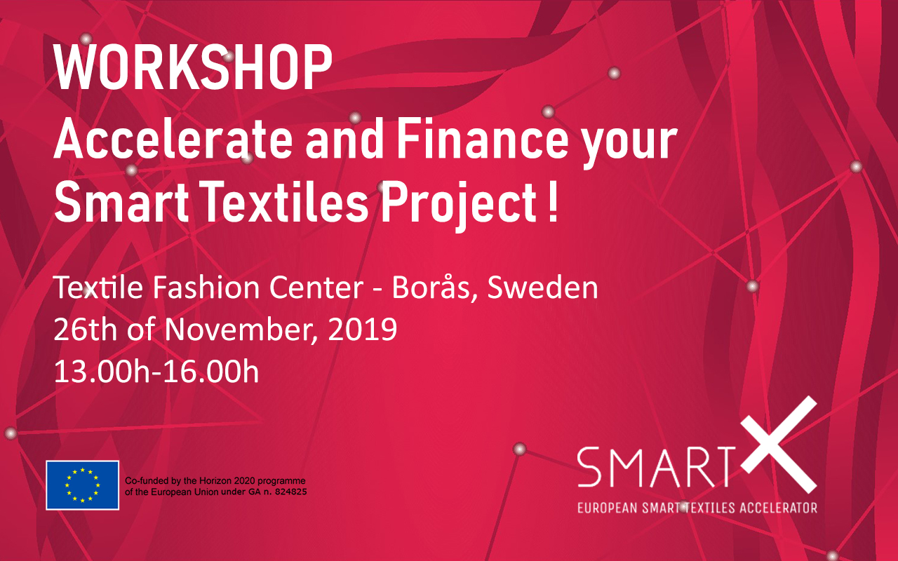 Join the SmartX community and boost your smart textiles innovation