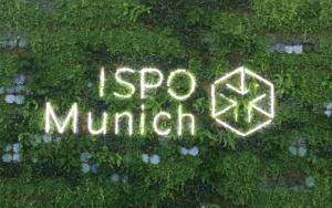 ISPO Borås logotyp på en vägg av växter