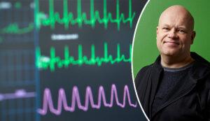Nils-Krister Persson och EKG